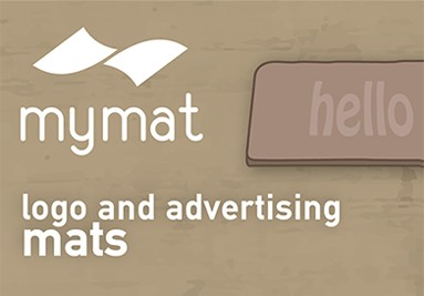 Mymat - Graffiti logo mats Jet-Print