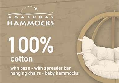 Aiora Amazonas - Hammocks, hanging chairs, stands for the whole family